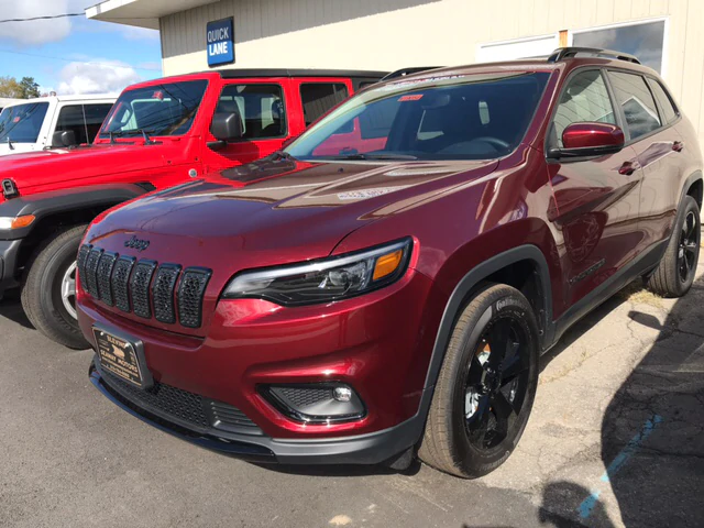 New 2019 Jeep Cherokee 9-Speed Automatic Transmission