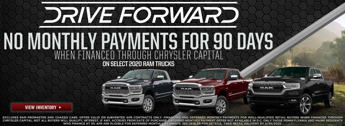 Ram Truck Month - National - NMP for 90